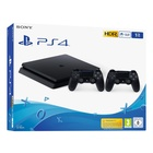 Sony PlayStation 4 Slim + 2 x DualShock 4 V2 Nero 1000 GB Wi-Fi