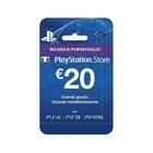 Sony Playstation Live Cards Hang 20 Euro Videogioco Cartolina