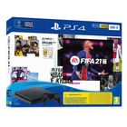 Sony PS4 Console 500GB Chassis Slim Black + FIFA21 + FUT 21 VCH