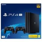 Sony PS4 Pro 1TB Gamma + 2 DS4 V2 Nero 1000 GB Wi-Fi