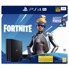 Sony PS4 Pro 1TB Gamma + Fortnite VCH (2019) Nero 1000 GB Wi-Fi