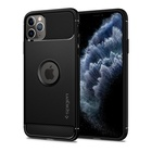 Spigen Rugged Armor Cover iPhone 11 Pro Max Nero