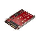 """STARTECH Adattatore per 2 Dischi SSD M.2 a SATA per alloggio da 2,5"""" - RAID"""