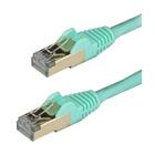 STARTECH Cavo patch CAT6a da 1,5 m - Schermato (STP) - Filo di rame al 100% - connettore antistrappo - Acqua
