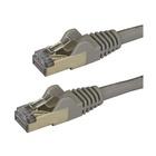 STARTECH Cavo patch CAT6a da 1,5 m - Schermato (STP) - Filo di rame al 100% - connettore antistrappo - grigio