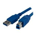 STARTECH Cavo USB 3.0 SuperSpeed per stampante tipo A/B ad alta velocita' M/M - 1m