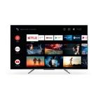 """TCL 50C715 50"""" 2800 PPI UHD Edge LED Metal Android 50"""" 4K Ultra HD Smart TV Wi-Fi Nero SCATOLA APERTA Test di Prova interno di 30 minuti PRODOTTO PERFETTO"""