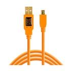 Tether Tools TetherPro USB 2.0 A/MiniB 5 Pin 4,6m Orange