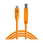 Tether Tools USB-C a USB 3.0 Male B 4,60m arancio