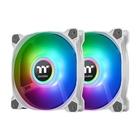 Thermaltake Pure Duo 12 Ventola 12 cm Bianco,RGB 2 pezzo(i)