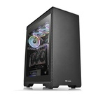 Thermaltake S500 TG Midi-Tower Nero, Trasparente