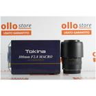 Tokina 100mm f/2.8 ATX Macro Pro D Canon EOS Condizioni pari al nuovo, Compreso di scatola e Filtro di protezione.