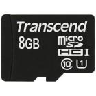Transcend 8GB MicroSDHC Classe 10 UHS-I