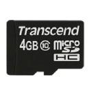 Transcend 4GB MicroSDHC Classe 10