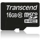 Transcend TS16GUSDC10 16GB MicroSDHC Classe 10