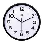 TREVI OM 3302 S Orologio da parete in quarzo Cerchio Nero, Bianco