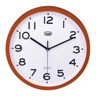 TREVI OM 3302 S Orologio da parete in quarzo Cerchio Rosso, Bianco