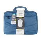 """Tucano Borsa Blu per notebook 15.6"""" Compatta con vano imbottito + Mouse Wireless Omaggio"""