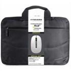 """Tucano Borsa Nero per notebook 15.6"""" Compatta con vano imbottito + Mouse Wireless Omaggio"""