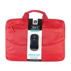 """Tucano Borsa Rosso per notebook 15.6"""" Compatta con vano imbottito + Mouse Wireless Omaggio"""