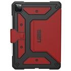 "UAG Urban Armor Gear Metropolis 27,9 cm (11"") Custodia a libro Nero, Rosso"