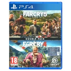 Ubisoft Double Pack: Far Cry 4 + Far Cry 5 PS4