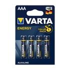 Varta Energy AAA Batteria monouso Mini Stilo AAA Alcalino