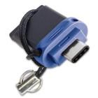 Verbatim 49966 32GB USB 3.0 Type-A/Type-C Nero, Blu, Argento