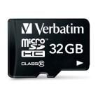 Verbatim 32GB MicroSDHC card classe 10