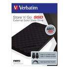 Verbatim Store 'n' Go 480 GB Nero