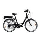 """Vivobike City Bike VC26B Ruote 26"""" Cambio Shimano Nero"""