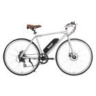"""Vivobike VT27 27.5"""" 19 kg Bianco Acciaio"""
