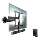 Vogel's NEXT 8365 da parete motorizzato con Soundbar e Subwoofer Bluetooth