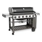 Weber Genesis II E-610 GBS 17580 W Barbecue Gas Carrello Nero, Acciaio inossidabile