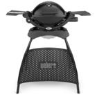 Weber Q 1200 2600 W Grill Gas con Stand Nero