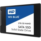 """Western Digital Blue 3D NAND SATA SSD 2TB 2048GB 2.5"""" SATA III"""