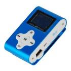 XTREME Lettore MP3 + TF Card 4GB + FM Blu