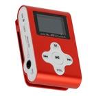 XTREME Lettore MP3 + TF Card 4GB + FM Rosso