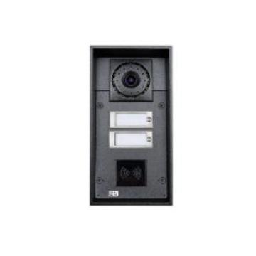 2N Telecommunications 9151102CRW sistema intercom audio Nero