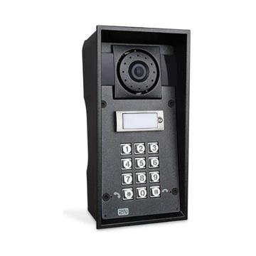 2N Telecommunications IP Force sistema per video-citofono Nero