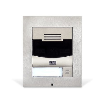 2N Telecommunications IP Solo sistema per video-citofono Nichel