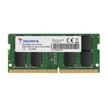 Adata AD4S26668G19-SGN 8 GB DDR4 2666 MHz