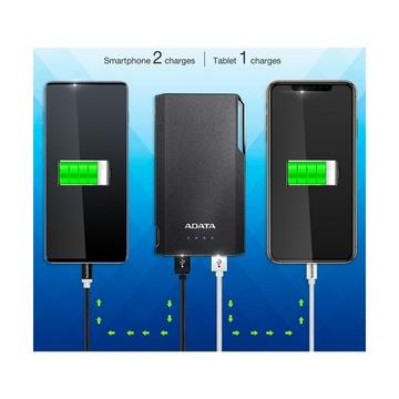 Adata S10000 10.000mah 2 USB Nero