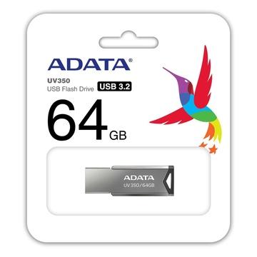 Adata UV350 64 GB USB A Grigio