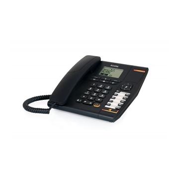 Alcatel Temporis 880 Analog/DECT telephone Black Identificatore di chiamata