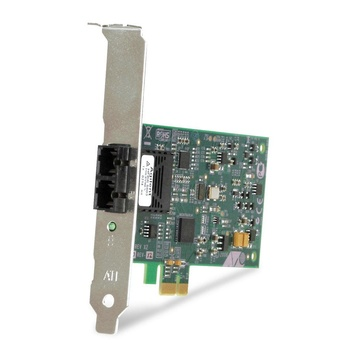 Allied Telesis 100FX Desktop PCI-e Fiber Network Adapter Card 100 Mbit/s