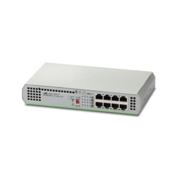 Allied Telesis AT-GS910/8-50 Non gestito Gigabit 10/100/1000 Grigio