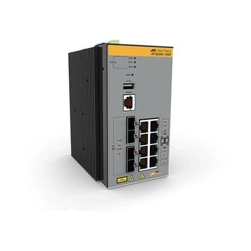 Allied Telesis AT-IE340-12GP-80 Gestito L3 Gigabit PoE Grigio