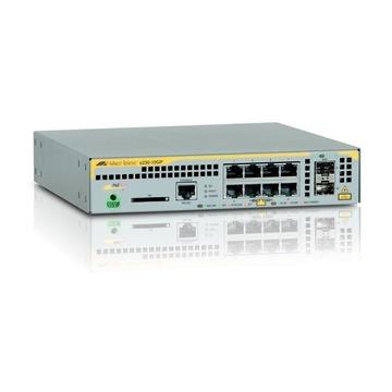 Allied Telesis AT-x230-10GP-50 Managed L2+ Gigabit Grigio PoE