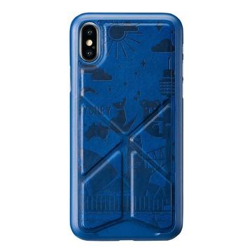 Cover per iphone x e xs sydney blu
